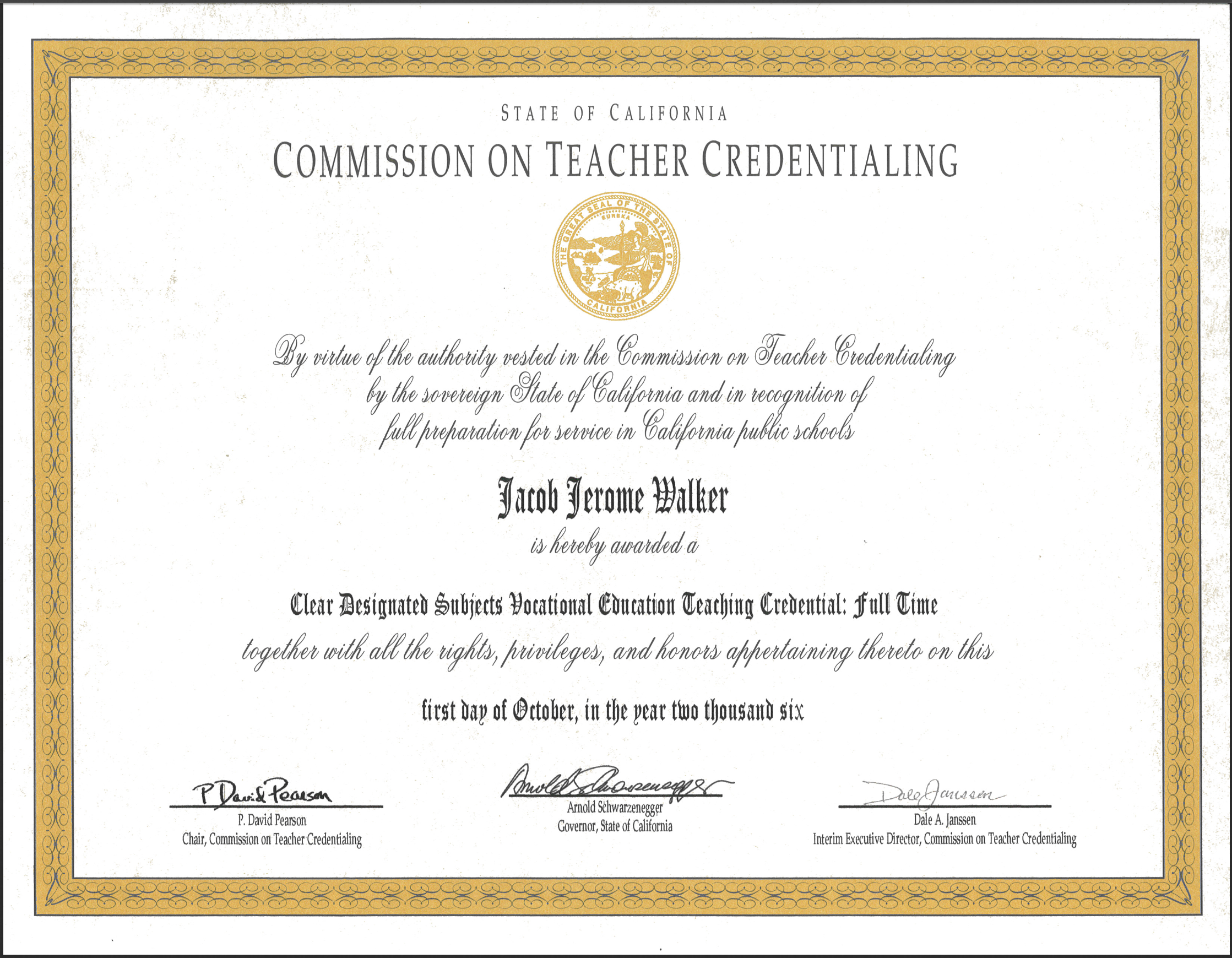 California Alternative Teacher Credentialing Consulting